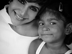 "Mandira Bedi's Daughter Tara, 4, Is Her ""LockStar"""
