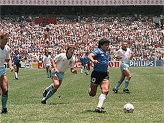 "Former England Player Says Diego Maradona's ""Hand Of God"" Jersey Not For Sale"