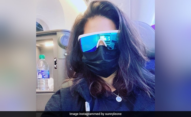 Sunny Leone, Who Flew Back To Mumbai After 6 Months, Is Ready For A 'New Adventure'