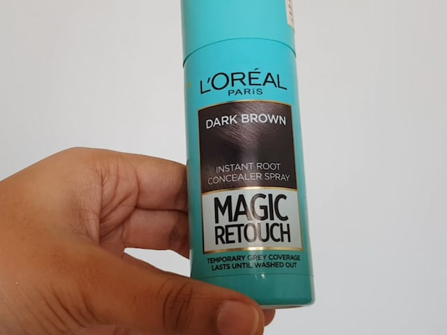 Video : I Tried The L'Oreal Paris Magic Retouch That Colours Grey Hair In Seconds