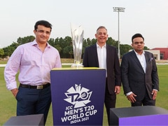 """""""Matter Of Great Honour,"""" Says Sourav Ganguly As Countdown To 2021 T20 World Cup Begins"""