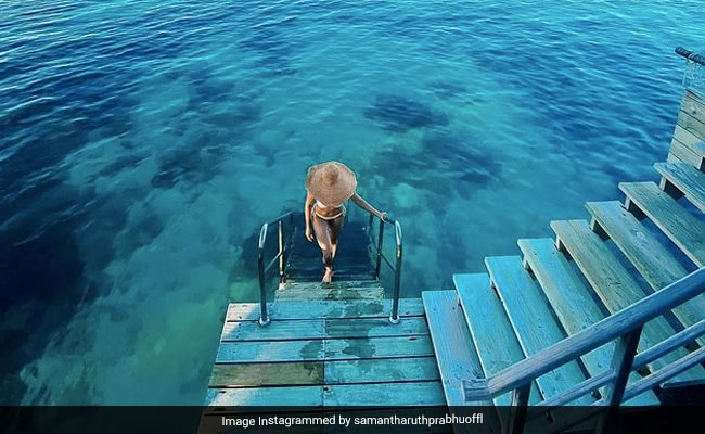Samantha Ruth Prabhu Went For A Swim And Came Back With A Profound Thought