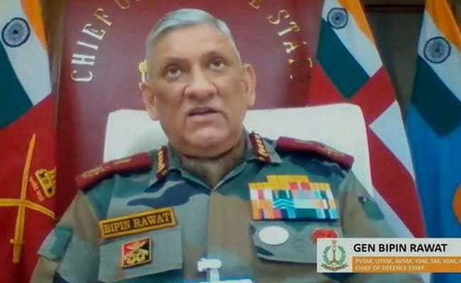 Terrorists Working With Pak Army Can Escalate Situation: General Rawat