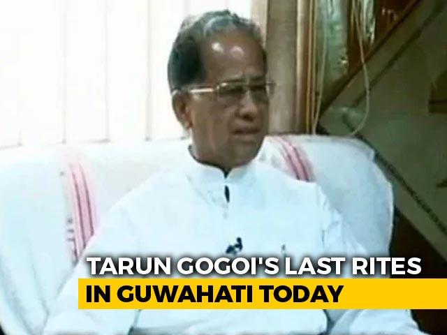Video : Tarun Gogoi Led Assam In Challenging Period, History Will Remember Him: Himanta Biswa Sarma