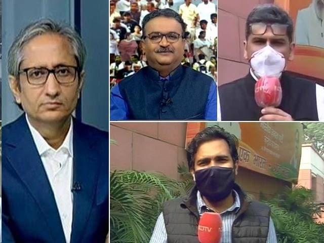 Videos : बिहार चुनाव : पोस्टल बैलेट में इस वजह से आगे महागठबंधन!