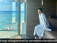 While Samantha Ruth Prabhu Gushes Over Her Maldives View, We Can't Stop Looking At Her