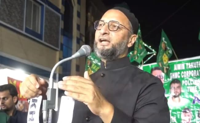 'Disgusting': Asaduddin Owaisi On BJP Minister's 'No Muslim' Remark