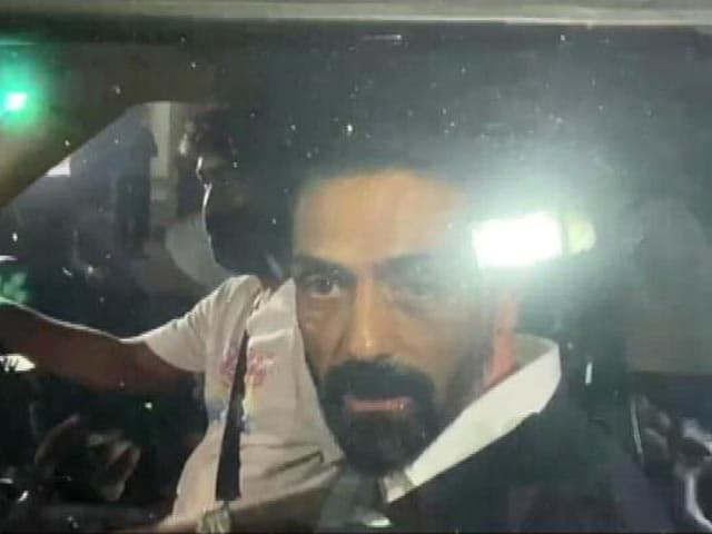 Video: 'I've Nothing To Do With Drugs': Actor Arjun Rampal Questioned In Mumbai
