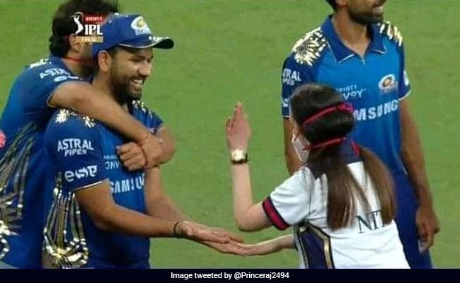 IPL 2020 फाइनल जीतने के बाद मैदान पर आ गई MI की मालकिन नीता अंबानी, रोहित शर्मा को यूं दी बधाई