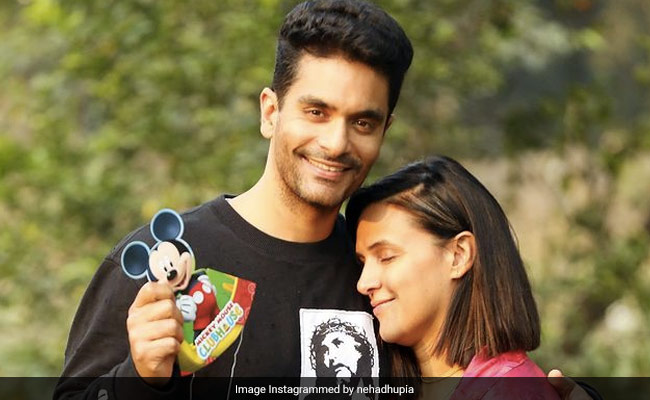 Neha Dhupia's Post About 'Equal Parenting' Is A Shout-Out To Husband Angad Bedi