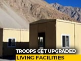 Video : Troops In Eastern Ladakh Get Upgraded Living Facilities, Heated Tents