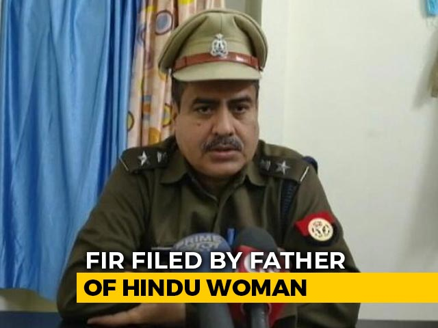 "Video : Uttar Pradesh Police Files First Case Under New Law Against ""Love Jihad"""