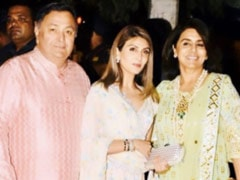 """Miss You, Papa"": Remembering Rishi Kapoor, Riddhima Shares Diwali Pic From Last Year"