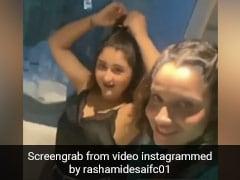 Ankita Lokhande ने गाया रोमांटिक गाना तो Rashami Desai ने यूं किया डांस, खूब Viral हो रहा है Video