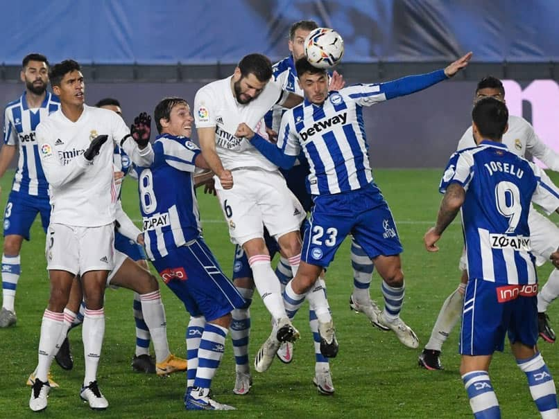 La Liga: Alaves Down Real Madrid As Atletico Madrid Go Level With Leaders Real Sociedad