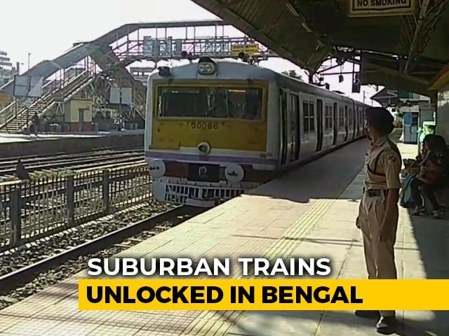 Video : Local Trains Back In Bengal After More Than Eight Months