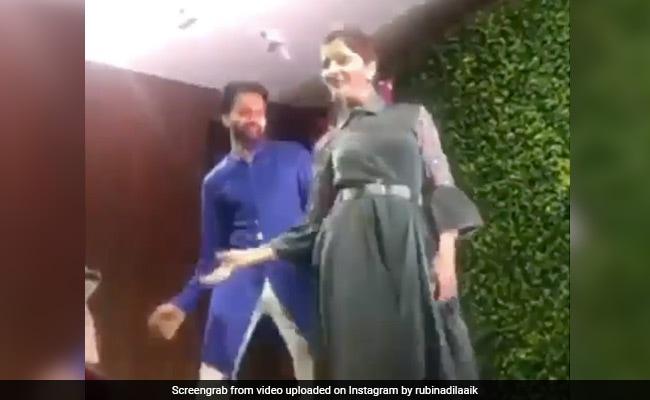 रूबीना दिलाइक ने 'लेम्बोर्गिनी' गाने पर दिखाया जबरदस्त अंदाज, शख्स संग जमी बेहतरीन जोड़ी- देखें Video