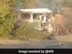 7 Killed In Car-Truck Collision In Gujarat