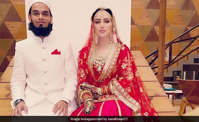 Sana Khan ने मुफ्ती अनस से निकाह के बाद बदला नाम, अब कहलाएंगी 'सईद सना खान'