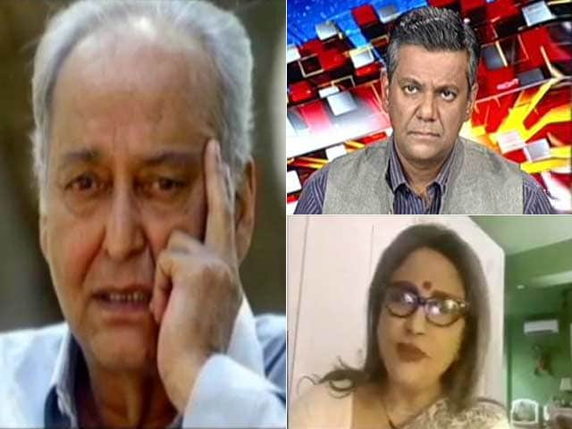 Video : Soumitra Chatterjee Was Rooted In Culture, History Of Bengal: Aparna Sen