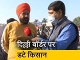 Video : कृषि कानून का विरोध, दिल्ली बॉर्डर पर ही डटे किसान