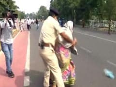 Killed 5-Year-Old's Parents Attempt Self-Immolation Near Odisha Assembly