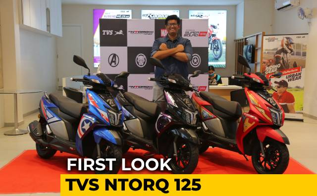 Video : TVS NTorq 125 Super Squad Edition First Look | Avengers Assemble