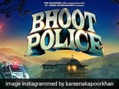 करीना कपूर ने शेयर किया सैफ अली खान की अपकमिंग फिल्म 'भूत पुलिस' का पोस्टर, लिखा- आत्मा निर्भय भारत...