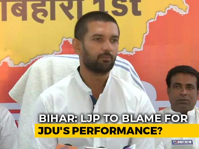 Video : Was Chirag Paswan The 'X-Factor' In Nitish Kumar's Bihar Election Result?