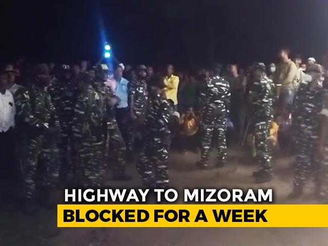 Video : Tension On Assam, Mizoram Border After Man Dies Allegedly In Custody