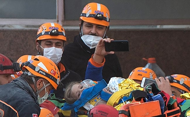 'Miracle In 91st Hour' As 3-Year-Old Girl Pulled From Turkey Quake Rubble