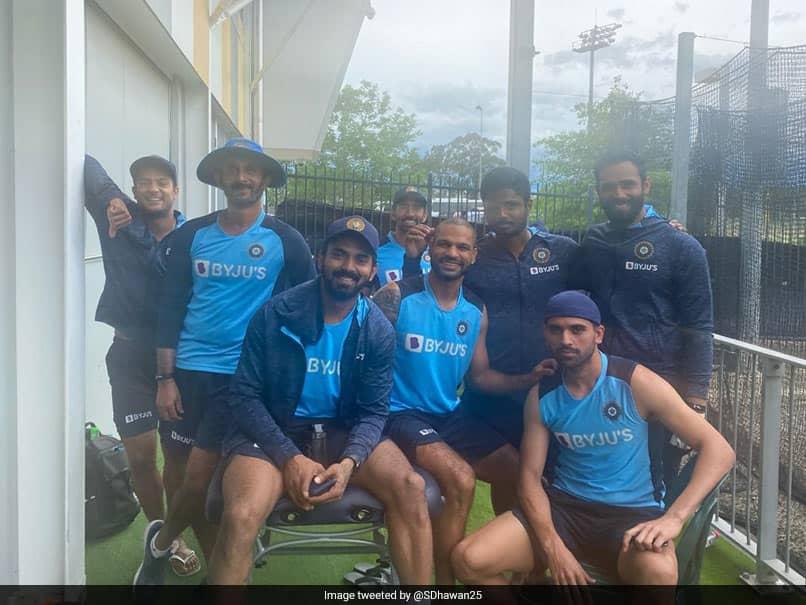 India Vs Australia: Shikhar Dhawan, India Teammates All Smiles In Sydney
