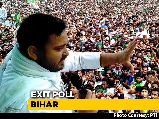 Video : Tejashwi Yadav-Led Alliance Ahead: Bihar Poll Of Exit Polls