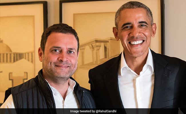 'Nervous, Unformed Quality About Him': Barack Obama On Rahul Gandhi
