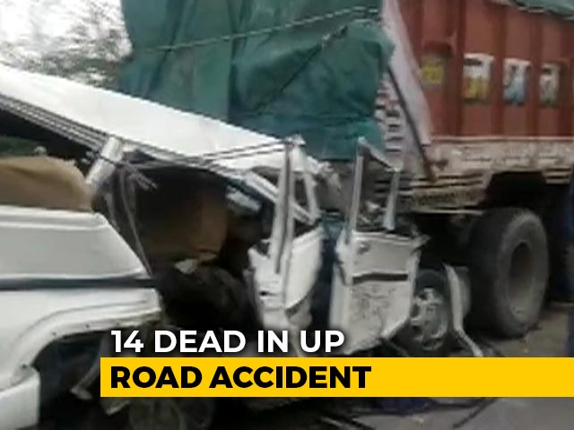 Video: 6 Children Among 14 Killed In Road Accident In UP's Pratapgarh
