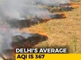 Video : Farm Fires Contributing 40% To Delhi's Pollution, Maximum So Far: Report