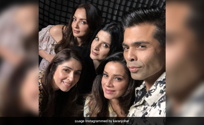 'Love Us, Troll Us, But You Won't Ignore Us': Karan Johar Sums Up Fabulous Lives Of Bollywood Wives