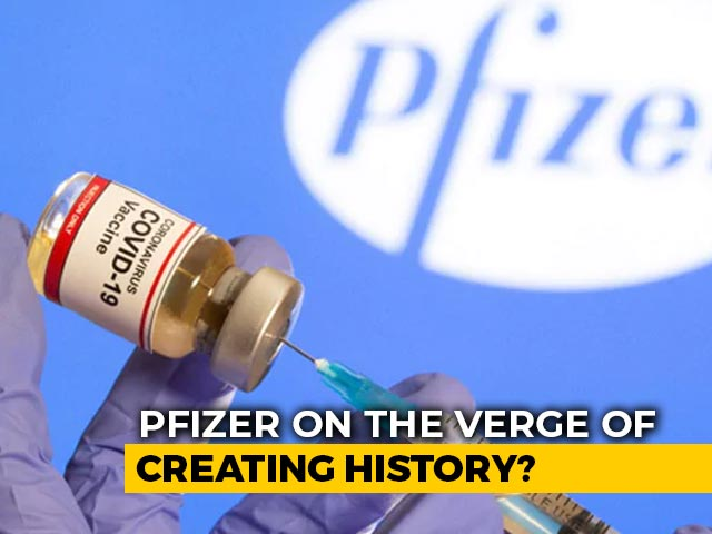 Video : Pfizer Says Vaccine 95% Effective In Final Trials With No Safety Concerns