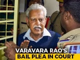 "Video : ""Technical Problems"": Bombay High Court Defers Varavara Rao's Relief Plea"