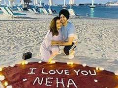 Neha Kakkar And Rohanpreet Singh Post Pics From Honeymoon In Dubai