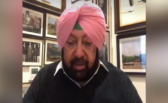 """Happy To Share…"": Amarinder Singh Confirms Prashant Kishor Tie-Up"