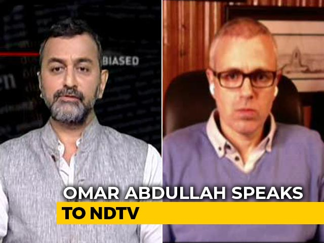 Video : Things Are Not Normal: Omar Abdullah on J&K Urban Local Body Election