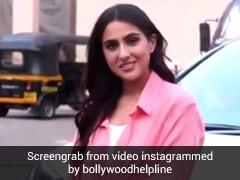 Sara Ali Khan से फोटोग्राफर ने कहा 'नमस्ते वाला पोज दीजिए', तो यूं मिला एक्ट्रेस से जवाब- Video हुआ वायरल