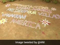 """Pride Of Our Village"": Kamala Harris' Ancestral Village Celebrates Her Victory"
