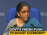 Video : Another Round Of Stimulus Likely Before Diwali: Sources