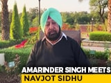 "Video : ""Making Mountain Of Molehill"": Amarinder Singh On Meet With Navjot Sidhu"