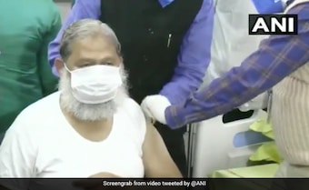 Vaccine Maker Clarifies As Haryana Minister, A Volunteer, Tests Covid+