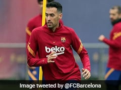 Sergio Busquets To Miss Barcelona's Clash Against Atletico Madrid Due To Knee Injury