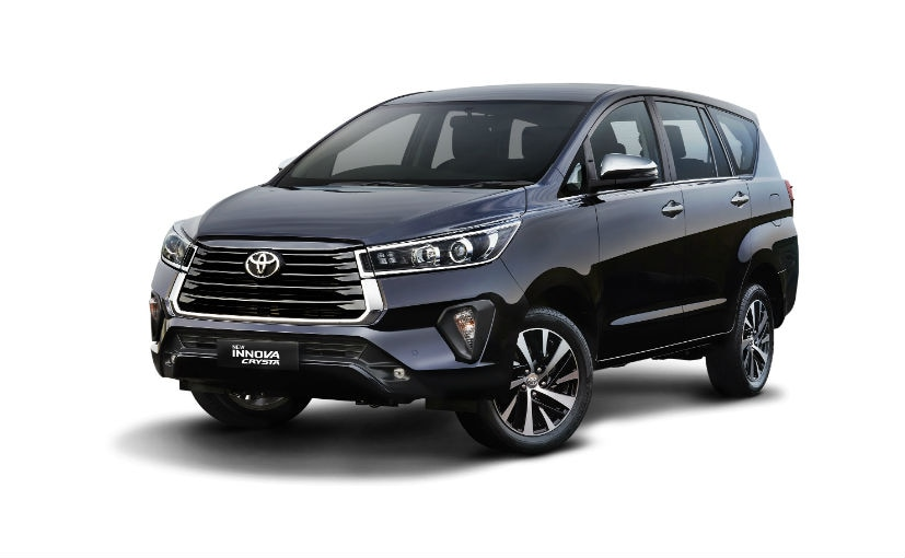 The 2021 Toyota Innova Crysta facelift gets a sharper looking front design and connected tech