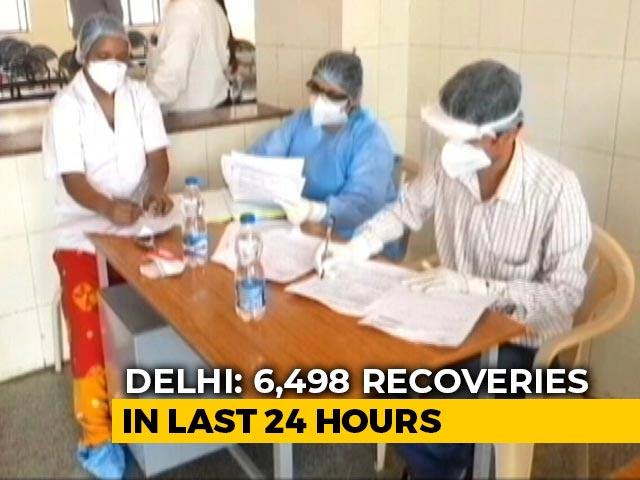 Video : Delhi Records 7,802 New Covid Cases, 91 Deaths